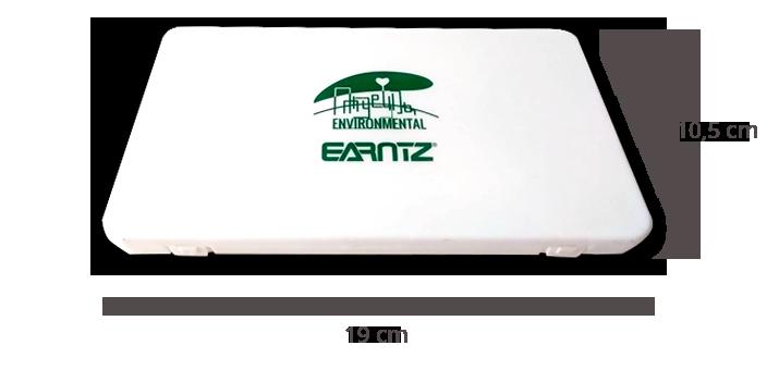 Dimensiones porta mascarillas EARNTZ® KN95